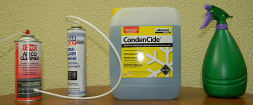 Жидкость для чистки кондиционера своими руками